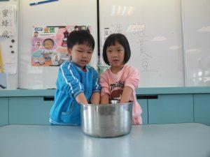 海豚班-製作豆漿